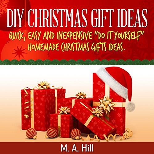 DIY Christmas Gift Ideas audiobook cover art