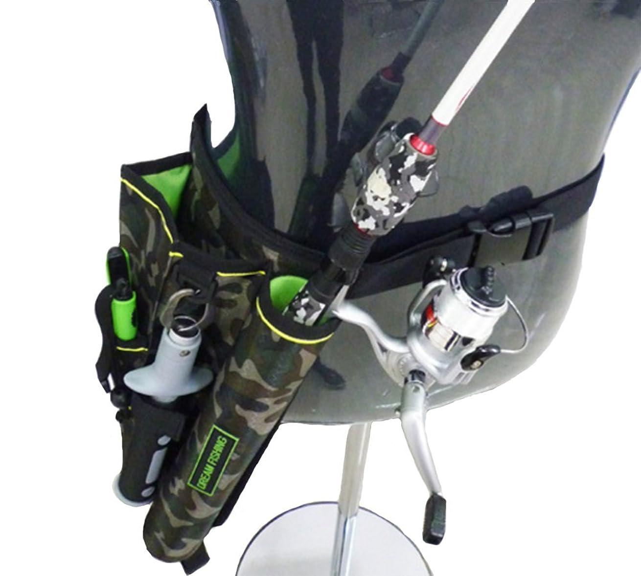 出席出来事勧告Etetnal Wings フィッシング バッグ 釣り 用 レッグ ポーチ ウエストポーチ ロッドホルダー 3色展開