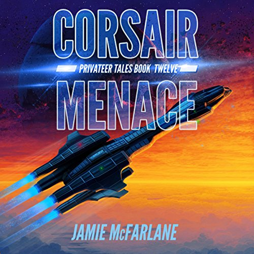 Corsair Menace audiobook cover art