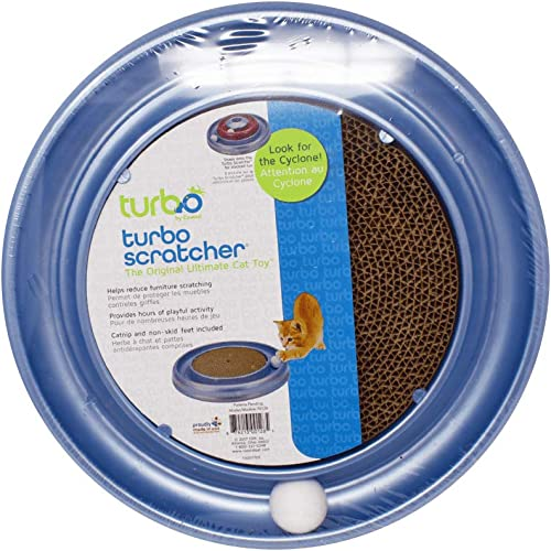 Bergan Turboscratcher Cat Toy (Assorted)