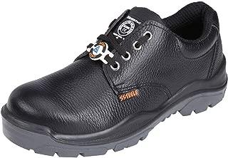 ACME Storm Leather Safety Shoes Black (Size - ACME007_43)
