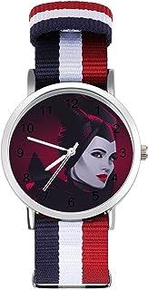 Reloj de ocio para adultos maléfico, moderno, hermoso y personalizado de aleación Shell casual deportivo reloj de pulsera ...