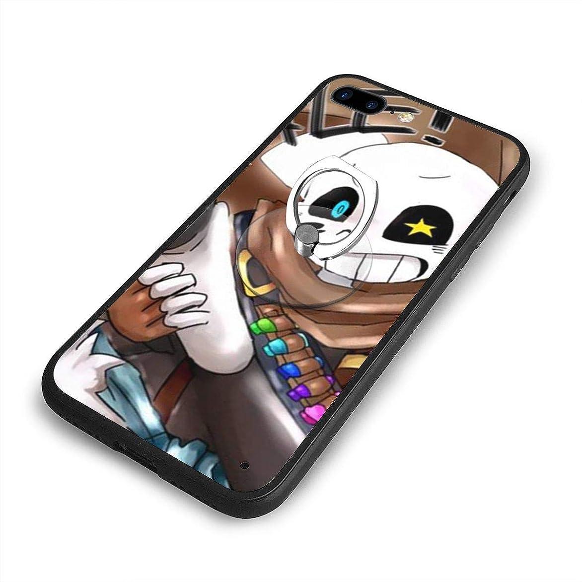 みなす規制切るUndertale Sansはあなたを望んでいますかiPhone 7/8 Plusケースリングブラケット 携帯カバー 創意デザイン軽量 傷つけ防止 360°回転ブラケット 携帯ケース PC 衝撃防止 全面保護