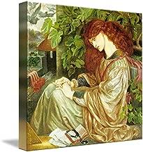 Wall Art Print Entitled Dante Gabriel Rossetti - La Pia De Tolomei Ca. 186 by Celestial Images   9 x 8
