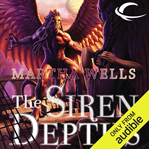 The Siren Depths audiobook cover art