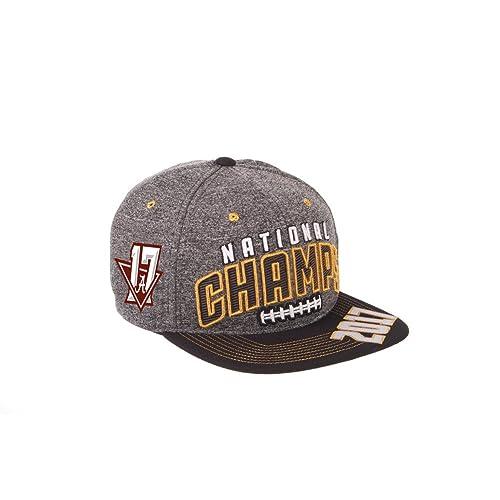 31b5363b909 Elite Fan Shop Alabama Crimson Tide National Champs Hat Charcoal (2017  National Championship)