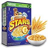 NESTLE Honey Stars Breakfast Cereal - Healthy Whole Grain Honey Taste Cereals - Source of Fiber, Iron, Calcium, Vitamins & Minerals - Imported from Malaysia, 300g