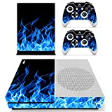 SKINOWN Xbox One S Slim Skin Camouflage Camo Sticker Vinly Decal Cover for Xbox One S(XB1 S) Console and 2 Controller Skins