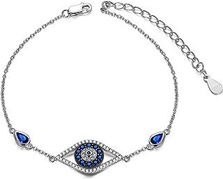 evil eye tennis bracelet