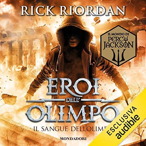 Il sangue dell'Olimpo copertina