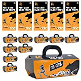 KD HOME Mouse/Rat Household Glue Traps, Professional Sticky Glue/Box Tray Traps Captures Mice and Rats - Also Used for Pests and Other Insects