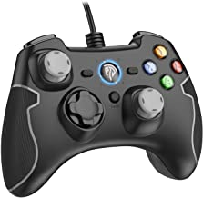 Wired Gaming Controller, EasySMX PC Game Controller Joystick Dual-Vibration Turbo Trigger Buttons Windows/Android/ PS3/ TV...