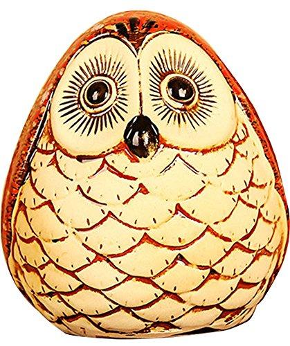 Black Temptation Cute Owl Coin Banque Enfants Piggy Bank