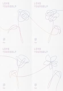 防弾少年団 - LOVE YOURSELF 承 [Her] [L.O.V.E version SET] 4CD+Photobook+Photocard+4 Folded Poster [KPOP MARKET特典 ボーナスギフトフォトカードセット] [韓国盤]