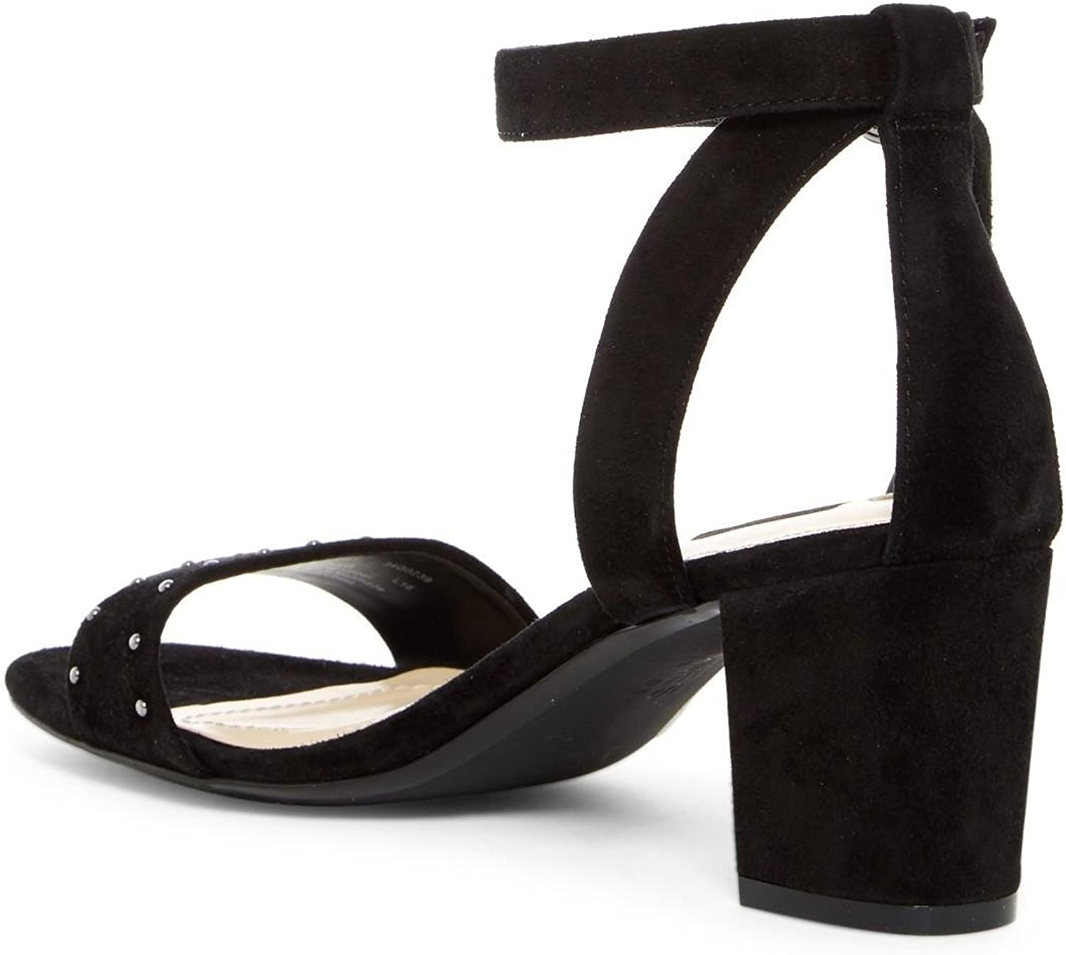 Jones New York Womens Rory Leather Open Toe Casual Ankle Strap Sandals