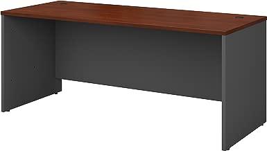 Bush Business Furniture Series C 72W x 30D Office Desk in Hansen Cherry