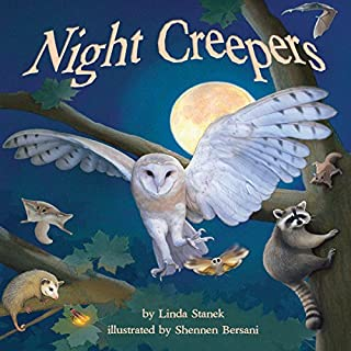 Night Creepers audiobook cover art
