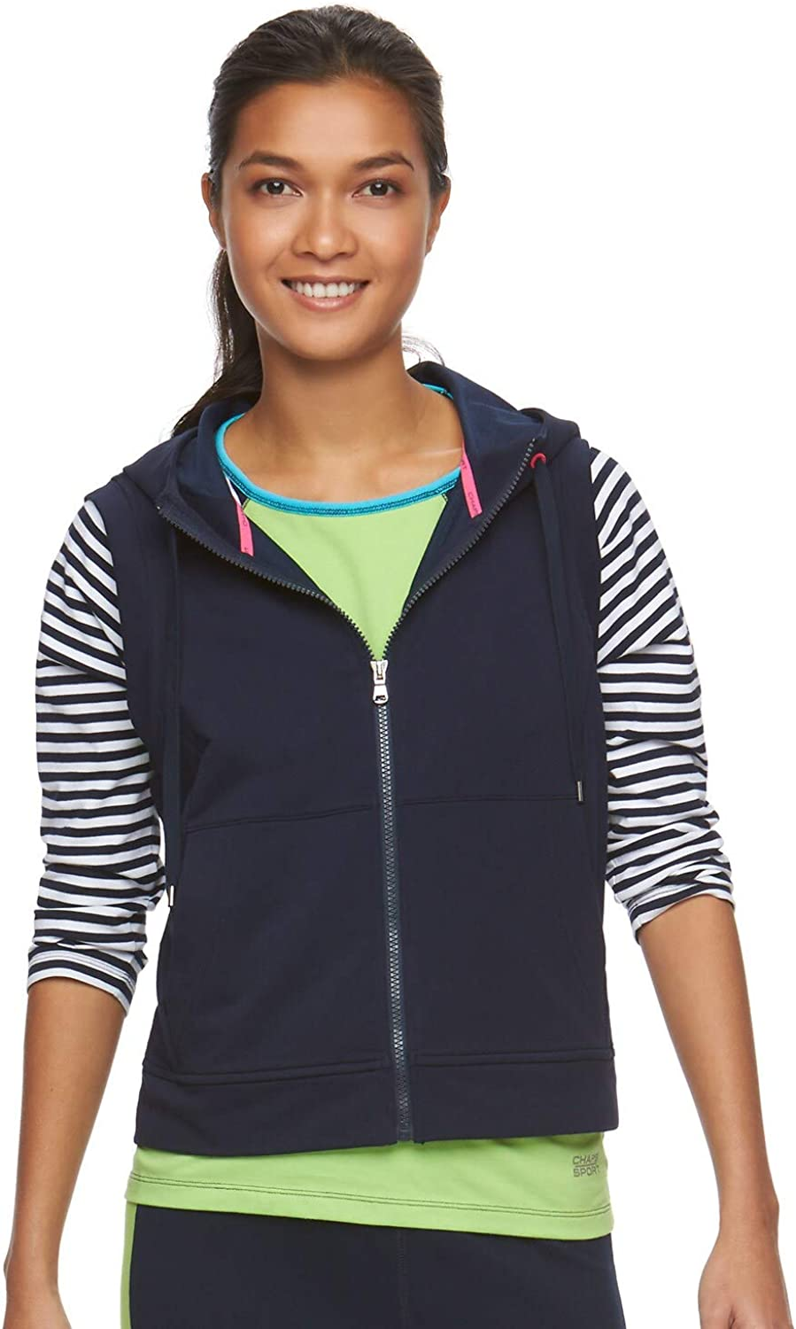 Chaps Women's Sport by Ralph Lauren Stretch Active Outfit Full-Z
