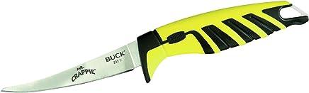 Buck Erwachsene Filetiermesser, Modell 232 Mr. Crappie, Stahl 420HC, Thermoplast Thermoplast Thermoplast Nylon-Griff, Kunststoff-Scheide Anglermesser Mehrfarbig One Größe B014R298ZO | Feine Verarbeitung  d9e9cc