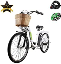 BRIGHT GG ebike with Removable 36V 10AH/48V 12AH Lithium Battery, Lock and Charger(22