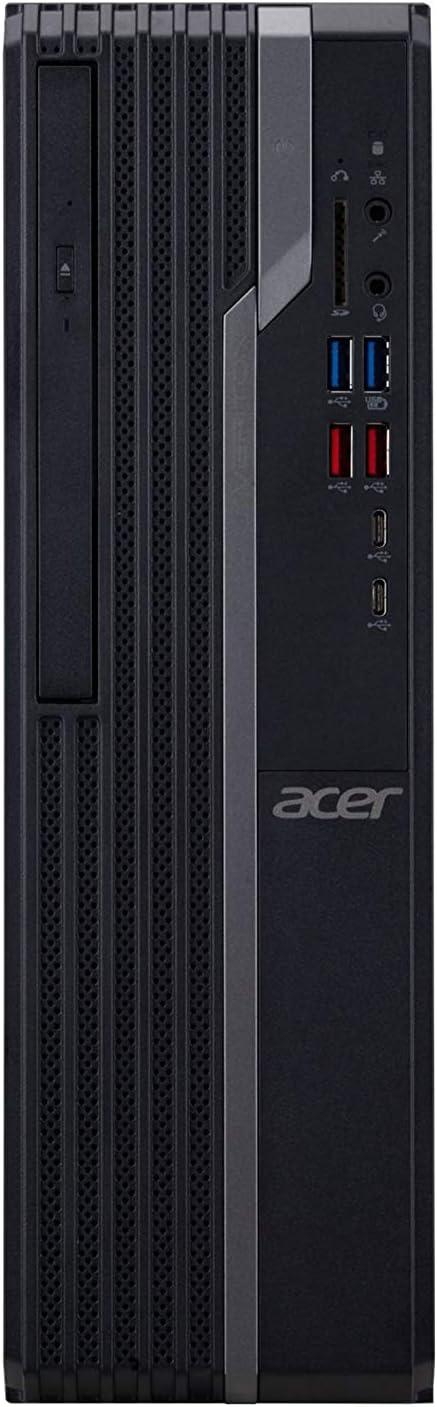 Acer VeritonX Desktop Intel Core i3-8100 3.60 GHz 4GB Ram 500GB HDD W10P (Renewed)