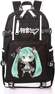 YOYOSHome Anime Hatsune Miku VOCALOID Cosplay Bookbag College Bag Backpack School Bag