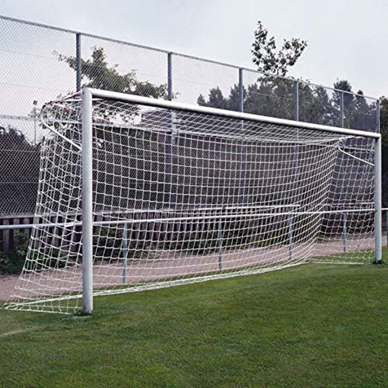 Donet Fußballtornetz Fußballtornetz Fußballtornetz 7,50 x 2,50 m Tiefe Oben 1,00   Unten 2,00 m, PP 3 mm ø, weiß B07GPX3KQ1  Eleganter Stil 87dd8f