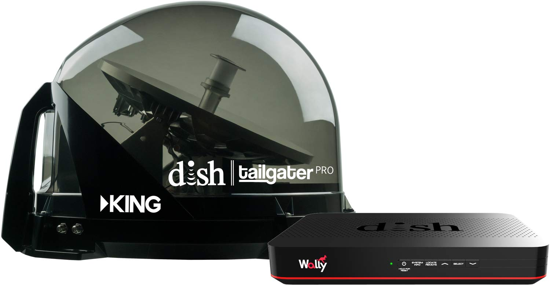 KING DTP4950 DISH Tailgater Bundle
