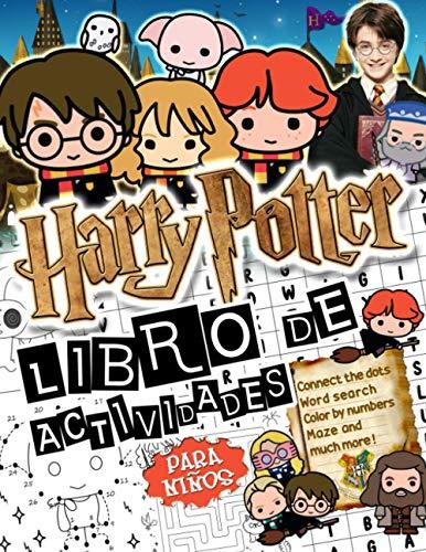 Harry Potter Libro De Actividades: Harry Potter Libro De Actividades-El Asombroso Mundo De Punto A Punto, Colorea, Laberinto, Encuentra Las Palabras Y Mucho Más!