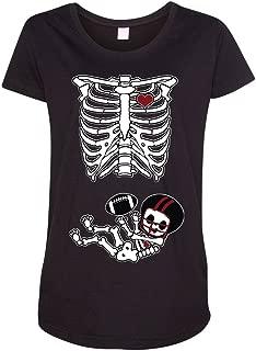 Baby Skeleton Atlanta Football Maternity DT T-Shirt Tee