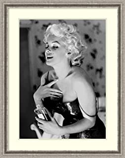 Framed Wall Art Print Marilyn Monroe, Chanel No. 5 by Ed Feingersh 28.75 x 36.25