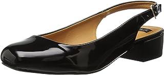 حذاء لوراي باليه مسطح للنساء من N.Y.L.A., (Black Patent), 6