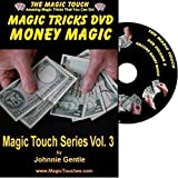 Magic Tricks with Money - Amazing Money Magic DVD Volume 3 - Full Demo and Explanation of Basic Skills to Enable You to Perform Stunning Magical Effects with Money, Coins,Banknotes and Dollar Bills