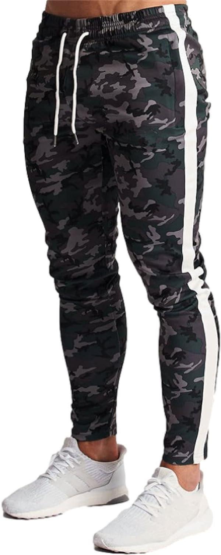 Men's Casual Pants Spring Camouflage Print Training Running Spor