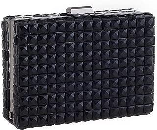 Crossbody Bag Women Purse Wallet Ladies Cluts Luxury Diamonds Evening Banquet Handbag bqt4ah (Color : Black)