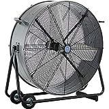 CD-2 30' Portable Tilt Drum Blower Fan, Direct Drive