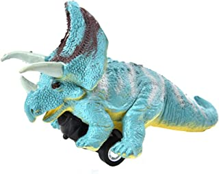 Wenini Dinosaur Cars Toys, Mini Vehicle Pull Back Animal Cars with Big Tire Wheel, for 3-14 Year Old Boys Girls Creative G...