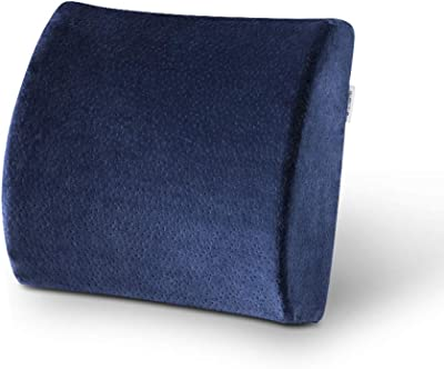 Waist Cushion, Office car Waist pad Work Back Cushion HPLL Pillows (Color : 2, Size : 31345cm)