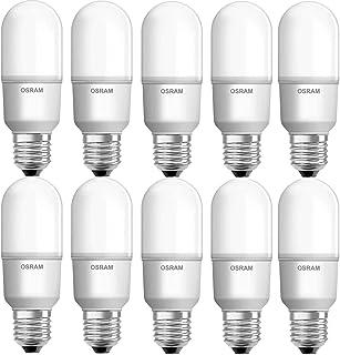 Osram E27 Led Bulb Value Stick Lamp 9 W/4000K (Pack Of 10)