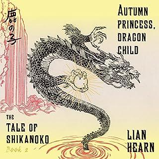 Autumn Princess, Dragon Child audiobook cover art