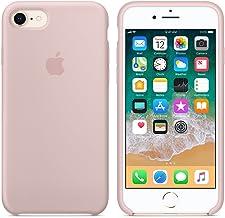 Funda para iPhone 7/8 Carcasa Silicona Suave Colores del Caramelo con Superfino Pelusa Forro,Anti-rasguños Teléfono Caso para Apple iPhone 7/8 (iPhone 7/8, Rosa Arena)
