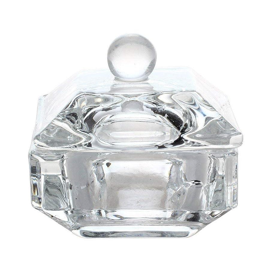 永久にバージン部分的1st market プレミアム品質1ピース新しい用液体パウダーツールクリスタルDappenディッシュネイルアートアクリル