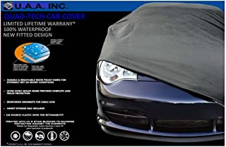 UAA Gray Fitted Waterproof Car Cover for Lexus SC430