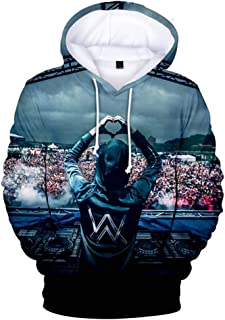 YD-zx Unisex Popular Hoodie, 3D/Faded/DJ/Digital Printed Long Sleeve Hoodies Pullover Thicken Hooded Sweatshirts