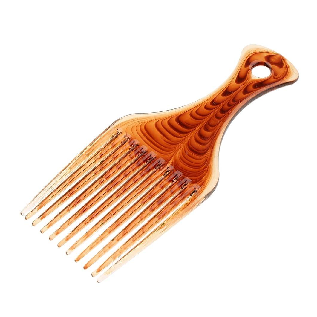 文化コンパクト抑圧Kesoto ヘアコーム ヘアブラシ くし プラスチック製 アフロ 髪の櫛 かつらにも適用 スタイリング 持ち上げ ヘアブラシ