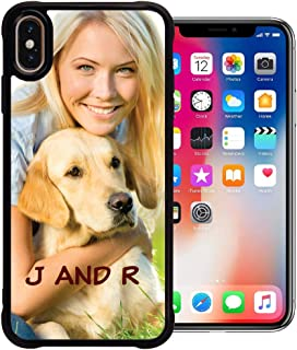 PixCase XS Max (6.5 inch) - Picture Frame Case - Compatible with Apple iPhone Xs Max - DIY - Insert Your Own Photos or Create Custom Designs Online - Change Anytime - Shock Absorbing Protection