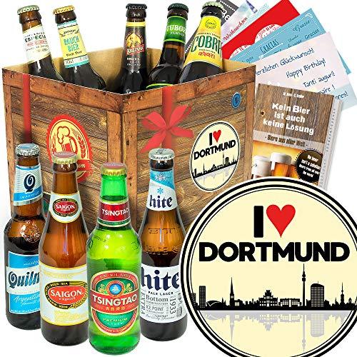 I love Dortmund/Bier Paket mit Bieren der Welt