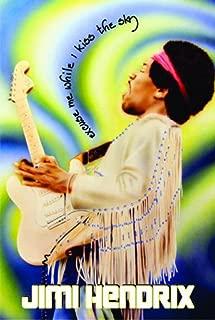 Blackball Jimi Hendrix Woodstock Scuse Me Music Poster 24x36 inch