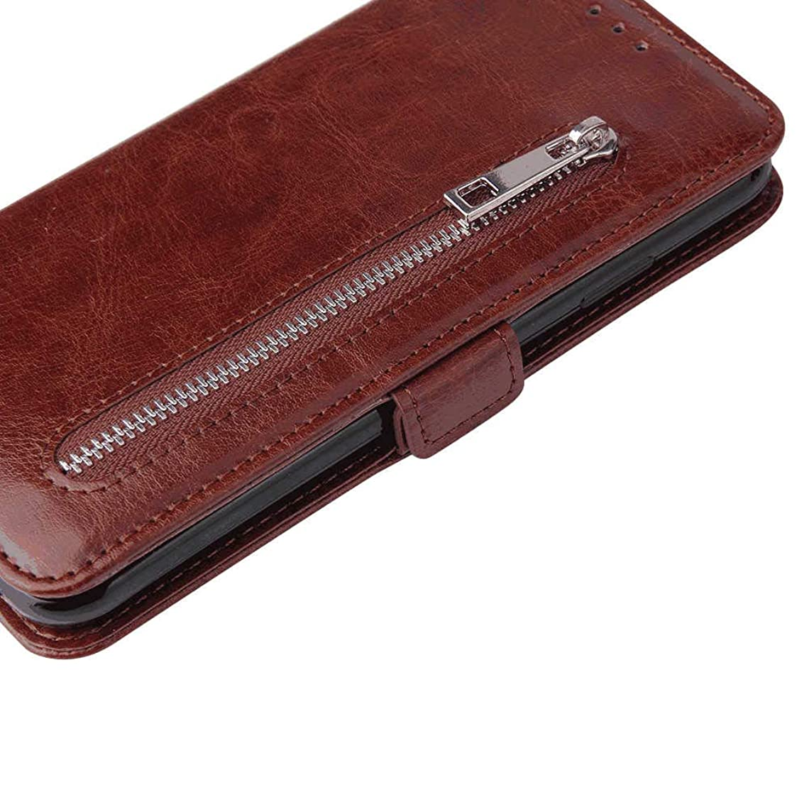 崖男らしいずるいiPhone X PUレザー ケース, 手帳型 ケース 本革 財布 耐摩擦 ビジネス カバー収納 スマートフォンカバー 手帳型ケース iPhone アイフォン X レザーケース