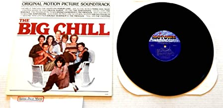 The Big Chill Original Motion Picture Soundtrack - Motown Records 1983 - A Used Vinyl LP Record - 1983 Pressing 6062ML- Temptations - Smokey Robinson - Procol Harum - The Rascals - Marvin Gaye